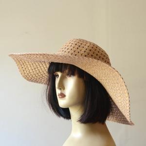 Chapeau blanc de ceremonie ou en paille naturelle